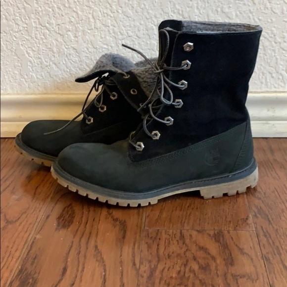 Women's Jayne Waterproof Cuffed Boots | | black